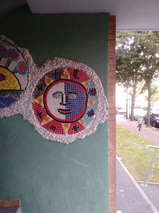 Mosaiques danielgapin artiste plasticien médoc